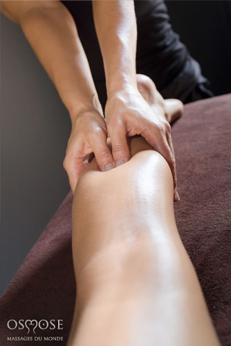Massage decouverte jambe